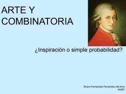 ARTE Y COMBINATORIA