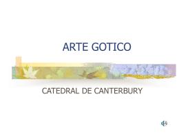 ARTE GOTICO - Planos de Casas
