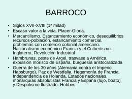 ARTE BARROCO - Aplicaciones Quid