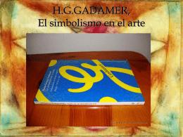 H.G.GADAMER, El simbolismo en el arte