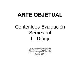 Diapositiva 1 - Departamento de Artes | www
