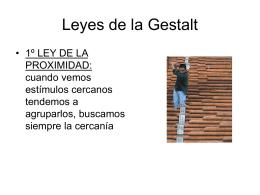 Leyes de la Gestalt