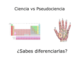 Ciencia vs Pseudociencia