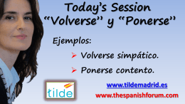 Diapositiva 1 - Free Spanish Lessons | Learn Spanish Online
