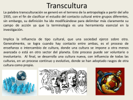 Transcultura