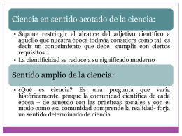 Capacidad descriptiva, explicativa y predictiva