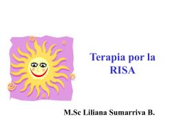 LA RISOTERAPIA - .:: Universidad Privada Norbert Wiener