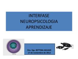 INTERFASE NEUROPSICOLOGIA APRENDIZAJE