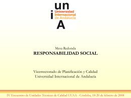 Modelo de Responsabilidad Social UNIA …