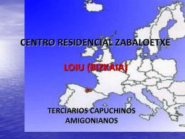 CENTRO RESIDENCIAL ZABALOETXE LOIU (BIZKAIA)