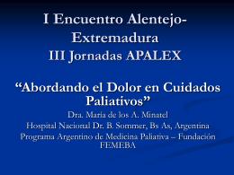 I Encuentro Alentejo- Extremadura III Jornadas APALEX