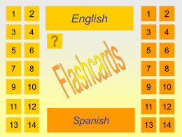 Vocabulary Flashcards - Santa Ana Unified School District