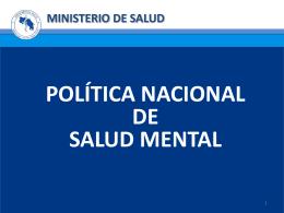 Diapositiva 1 - Sitio Web del Ministerio de Salud de Costa