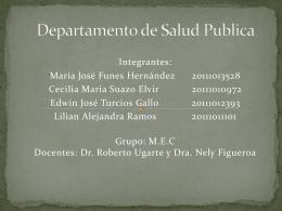 Departamento de Salud Publica