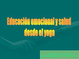 Diapositiva 1 - Yoga y Psicologia. Centros de Yoga y