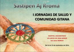 I JORNADAS DE SALUD Y POBLACION GITANA