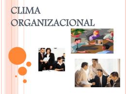CLIMA ORGANIZACIONAL - Talentocompetente's Blog