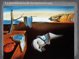 La persistencia de la memoria 1931