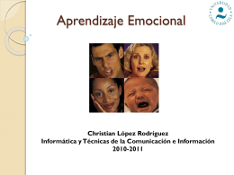 Aprendizaje Emocional