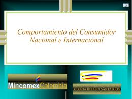 Comportamiento del Consumidor Internacional