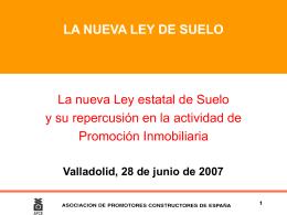 1. ANTECEDENTES Y OBJETO DE LA LEY