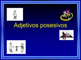 Adjetivos posesivos