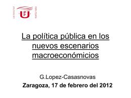 La 'new' new Economia del benestar