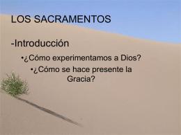 LOS SACRAMENTOS