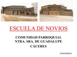 CURSILLO DE NOVIOS