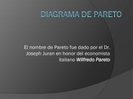 DIAGRAMA DE PARETO - Profesora Patricia Flores Verdad …