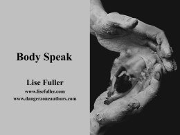 Body Speak - Lise Fuller