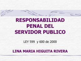 CONTROL PENAL PROCESO DE RESPONSABILIDAD PENAL