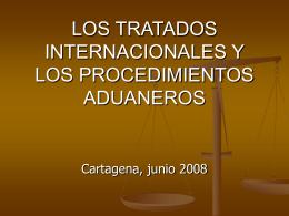LOS TRATADOS INTERNACIONALES Y LOS …