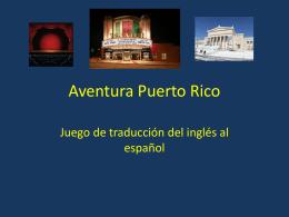 Aventura Puerto Rico