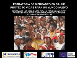 ESTRATEGIA DE MERCADEO SOCIAL DEL PROYECTO …