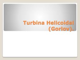 Turbina Helicoidal. - fuentesahorrro2012