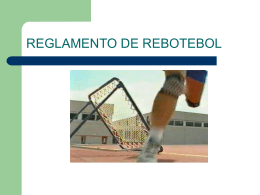 REGLAMENTO DE REBOTEBOL - cfgsseritium0911