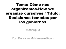 tema como nos organizamos decisisones how we express …
