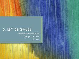 5. LEY DE GAUSS
