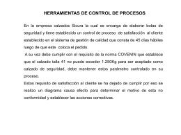 ANALISIS DE PRINCIPALES NO CONFORMIDADES