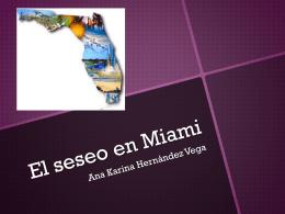 El seseo en Miami