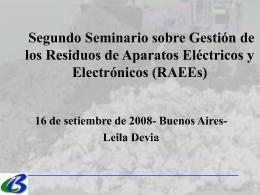 Convenio de Basilea (BCRC- Centro Regional Basilea …
