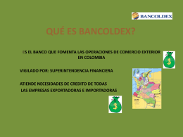 BANCOLDEX - frutiquesos