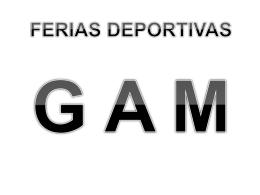 FERIAS DEPORTIVAS G.A.M.