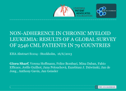 CML Patient Adherence