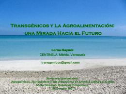 Diapositiva 1 - Centro para el Desarrollo Agropecuario y