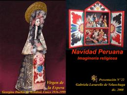 NAVIDAD PERUANA,IMAGINERIA RELIGIOSA