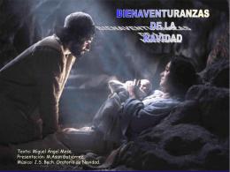 Bienaventuranzas de la Navidad