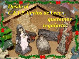 Un trocito de navidad