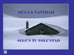 SEA LA NAVIDAD